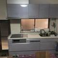 キッチン交換と腰壁
